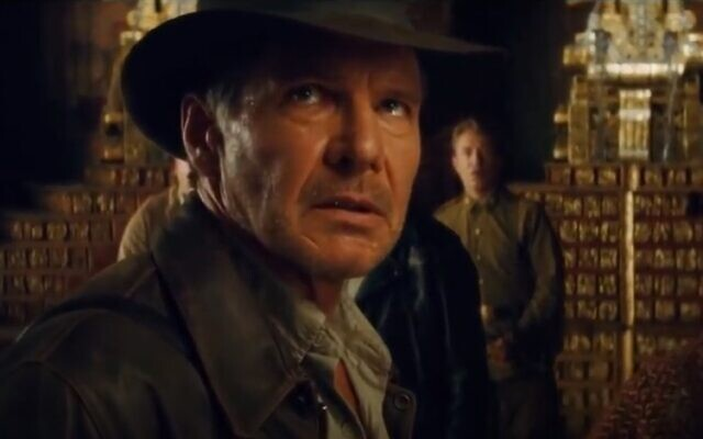 Harrison Ford in Indiana Jones and the Kingdom of the Crystal Skull, 2008 (video screenshot)
