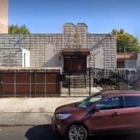 The Khal Zichron Menachem Synagogue in Brooklyn (Google Maps)