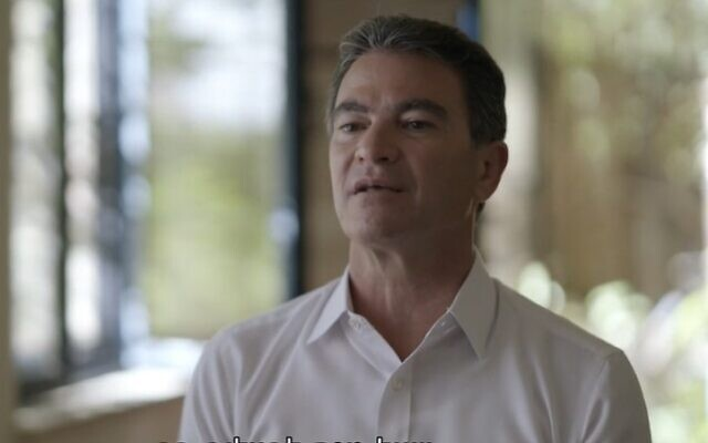 Former Mossad chief Yossi Cohen in an interview with Channel 12 broadcast on June 10, 2021 (Screencapture)