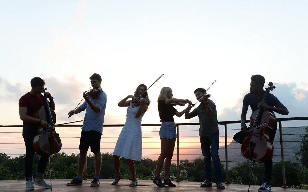 Master classes and seminars are held at Keshet Eilon in the Western Galilee twice a year (Courtesy: Sarit Uzieli)