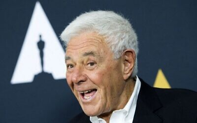 In this file photo taken on June 07, 2017 Director/producer Richard Donner attends An Academy Tribute To Filmmaker Richard Donner at The Academy of Motion Picture Arts and Sciences, in Beverly Hills, California. - Richard Donner, the directer of beloved films like 'Superman' and 'The Goonies,' has died on July 5, 2021. He was 91. (Photo by VALERIE MACON / AFP)