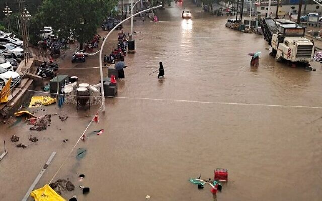 At least 12 killed in central China flooding after being trapped in subway,  cars   The Times of Israel