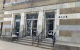 The exterior of Chicago's former B'nei Bezalel building in Woodlawn. (Naomi Waxman/JTA)