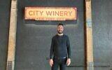 Shlomo Lipetz is vice president of programming at City Winery. (Ehud Lazin/ via JTA)