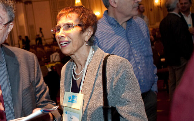 Ruth Pearl is seen at the ACM Turing Centenary Celebration in San Francisco, on June 18, 2012 (Ryan Anson/AP Images for Association for Computing Machinery)