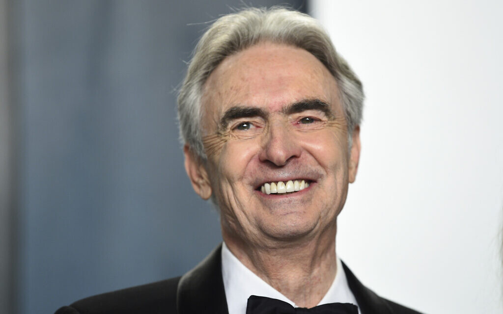 David Steinberg arrives at the Vanity Fair Oscar Party on February 9, 2020, in Beverly Hills, California. (Evan Agostini/Invision/AP)