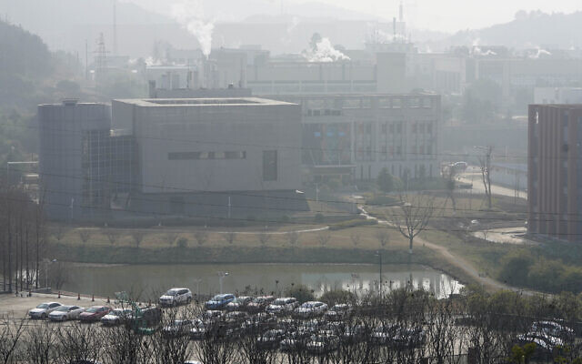 A view of the P4 lab inside the Wuhan Institute of Virology is seen after a visit by the World Health Organization team in Wuhan in China's Hubei province on Wednesday, Feb. 3, 2021. (AP Photo/Ng Han Guan)