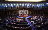 Illustrative: In this January 6, 2021, photo speaker of the House Nancy Pelosi speaks in the House Chamber. (Jim Lo Scalzo/Pool via AP)