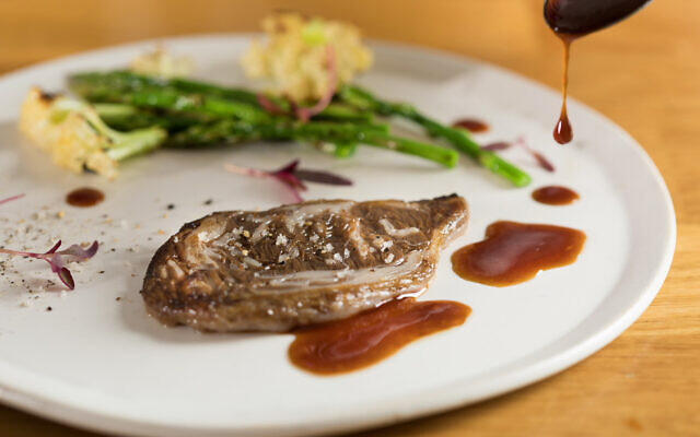 Aleph Farms ribeye steak (Aleph Farms and the Technion-Israel Institute of Technology)