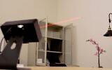 The Bzigo mosquito detector in action (Courtesy)