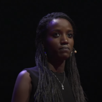 Carine Kanimba speaks at a TEDx confrence in Portland, September 19, 2019. (YouTube screenshot)