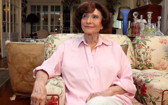 Anita Novinsky (Courtesy of the Sao Paulo Jewish federation)
