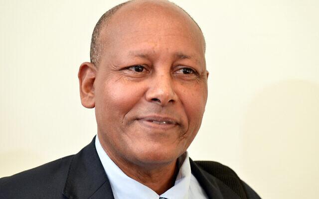 Israeli Ambassador to Ethiopia Aleleign Admasu. (Flash90)