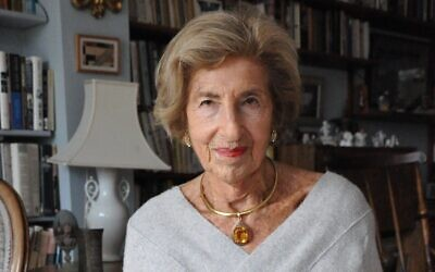 Journalist and author Hella Pick. (Bea Lewkowicz/ Association for Jewish Refugees)