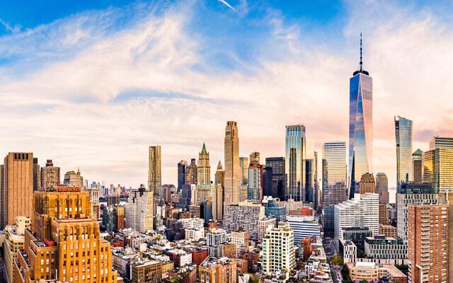 New York skyline (MyTower)
