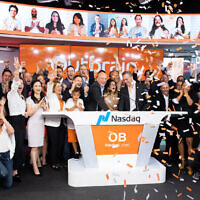 Outbrain launches its initial public offering on the NASDAQ on July 23, 2021 in New York City (Noam Galai).