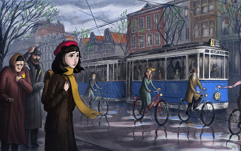 A still from director Ari Folman's 'Where is Anne Frank.' (Purple Whale Films)