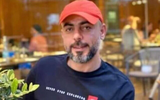 Abdu Yousef al-Khatib al-Tamimi, 43, who died under unclear circumstances while in police custody in Jerusalem, on Wednesday, July 21, 2021. (Courtesy)