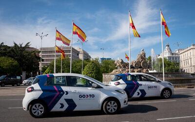 GoTo vehicles by GoToGlobal in Madrid (Courtesy)