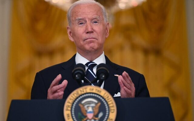 Biden: It was impossible for US to leave Afghanistan without 'chaos'