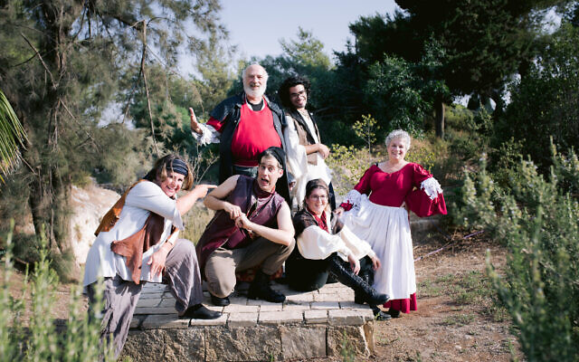Theater in the Rough is performing 'Henry IV: in motion' in Jerusalem's Bloomfield Gardens in August (Courtesy Yitz Woolf)