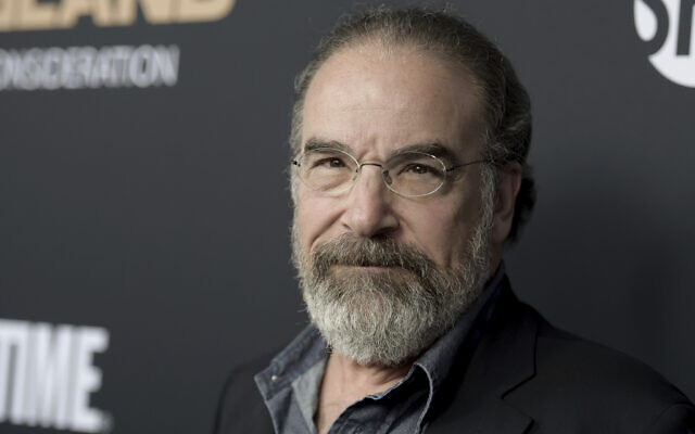 Mandy Patinkin attends the 'Homeland' FYC Event at the Writers Guild Theater, in Beverly Hills, California, June 5, 2018. (Richard Shotwell/Invision/AP)