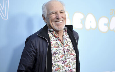 """Jimmy Buffett attends the LA Premiere of """"The Beach Bum"""" at ArcLight Hollywood on March 28, 2019, in Los Angeles. (Photo by Richard Shotwell/Invision/AP)"""