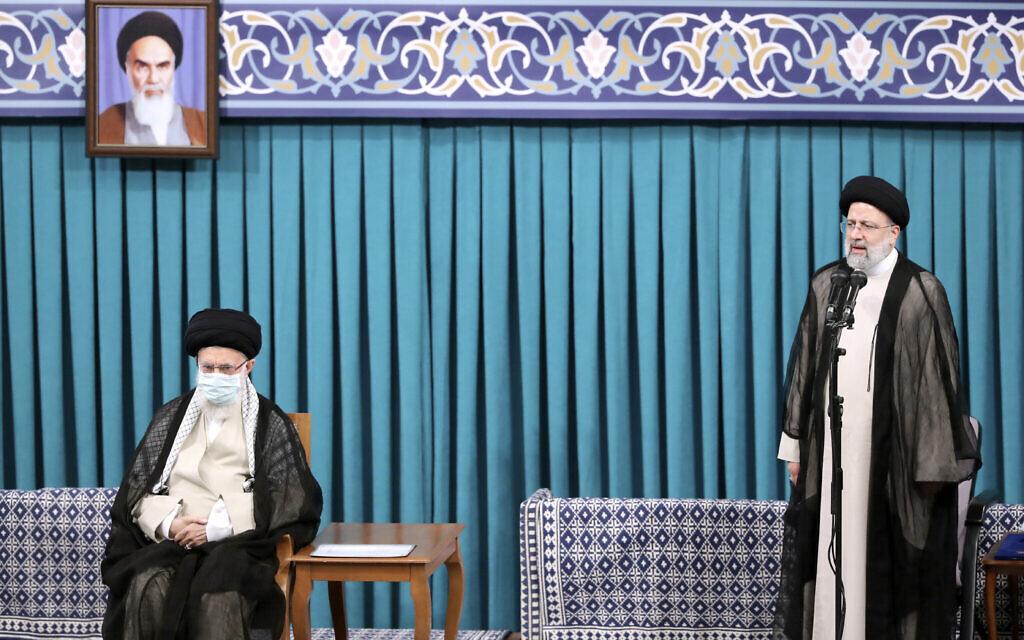 Iran's new hardline President Ebrahim Raisi to take oath before parliament