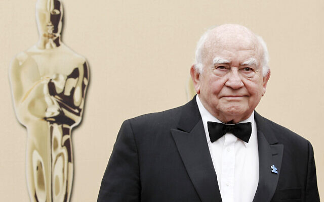 Actor Ed Asner arrives during the 82nd Academy Awards in the Hollywood section of Los Angeles, on March 7, 2010. (AP Photo/ Matt Sayles, File)