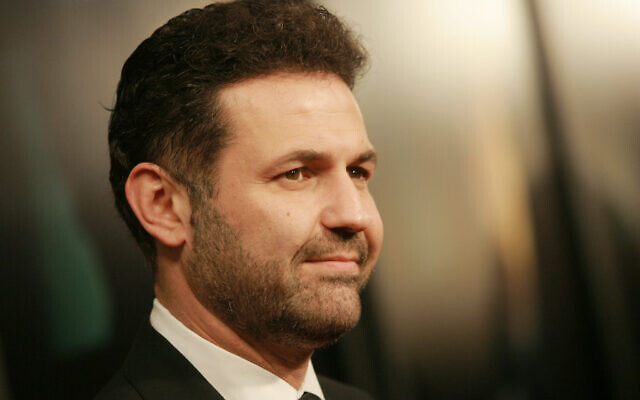 Author Khaled Hosseini at the 'There Will Be Blood' premiere at the Ziegfeld Theatre in New York, on December 10, 2007. (Evan Agostini/AP)