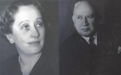 Fritz and Thea Goldschmidt. (Courtesy Goldschmidt family)