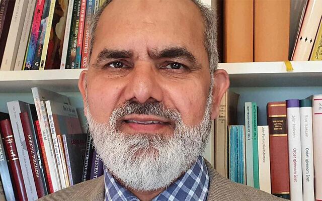 Norwegian Imam Noor Ahmad Noor. (Kirkelig Dialogsenter via JTA)