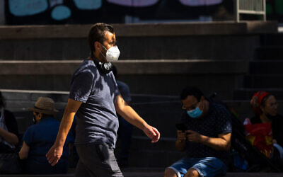 Jaffa Street in Jerusalem, July 29, 2021. (Olivier Fitoussi/Flash90)