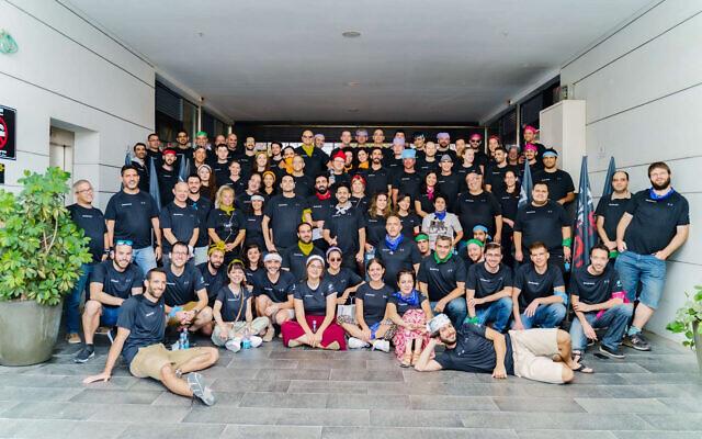OwnBackUp employees. (Courtesy/Buxa Photography)