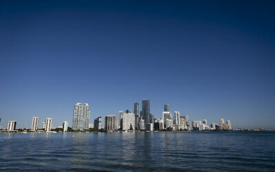 Miami, Florida, on January 10, 2021. (Eva Marie Uzcategui/AFP)