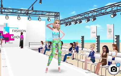 A screenshot from the trailer for Super Stylist, a leading game from Israeli studio CrazyLabs. (Screenshot/YouTube)