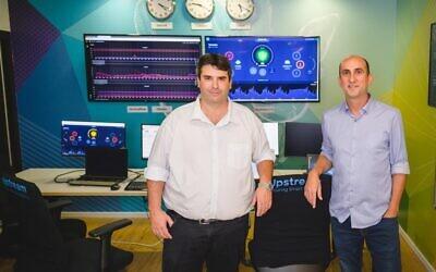 Upstream Security founders Yoav Levy, CEO (right) and Yonatan Appel, CTO. (Photo: Yarin Taranos)