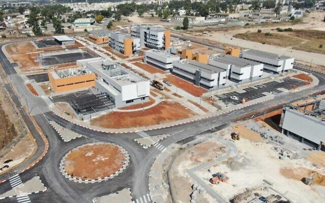 The new training base in Ramle for the IDF Home Front Command's Search and Rescue Brigade. (Defense Ministry)