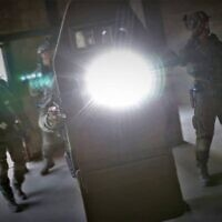 Illustrative: Yamam counter-terrorism unit forces are seen during training. (Israel Police)