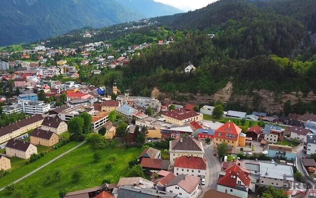 A view of Imst, Austria. (Video screenshot)