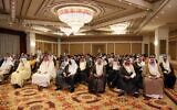 Iraqis attend the conference of peace and reclamation organised by US think-tank Center for Peace Communications (CPC) in Arbil, the capital of northern Iraq's Kurdistan autonomous region, on September 24, 2021 (Safin HAMED / AFP)