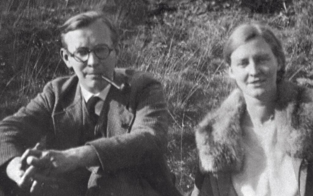 Mildred i Arvid Harnack w Jenie, Niemcy, 1929 (Dzięki uprzejmości Gedenkstätte Deutscher Widerstand)