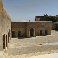 The reconstructed tomb of Nahum. (Courtesy Adam Tiffen)