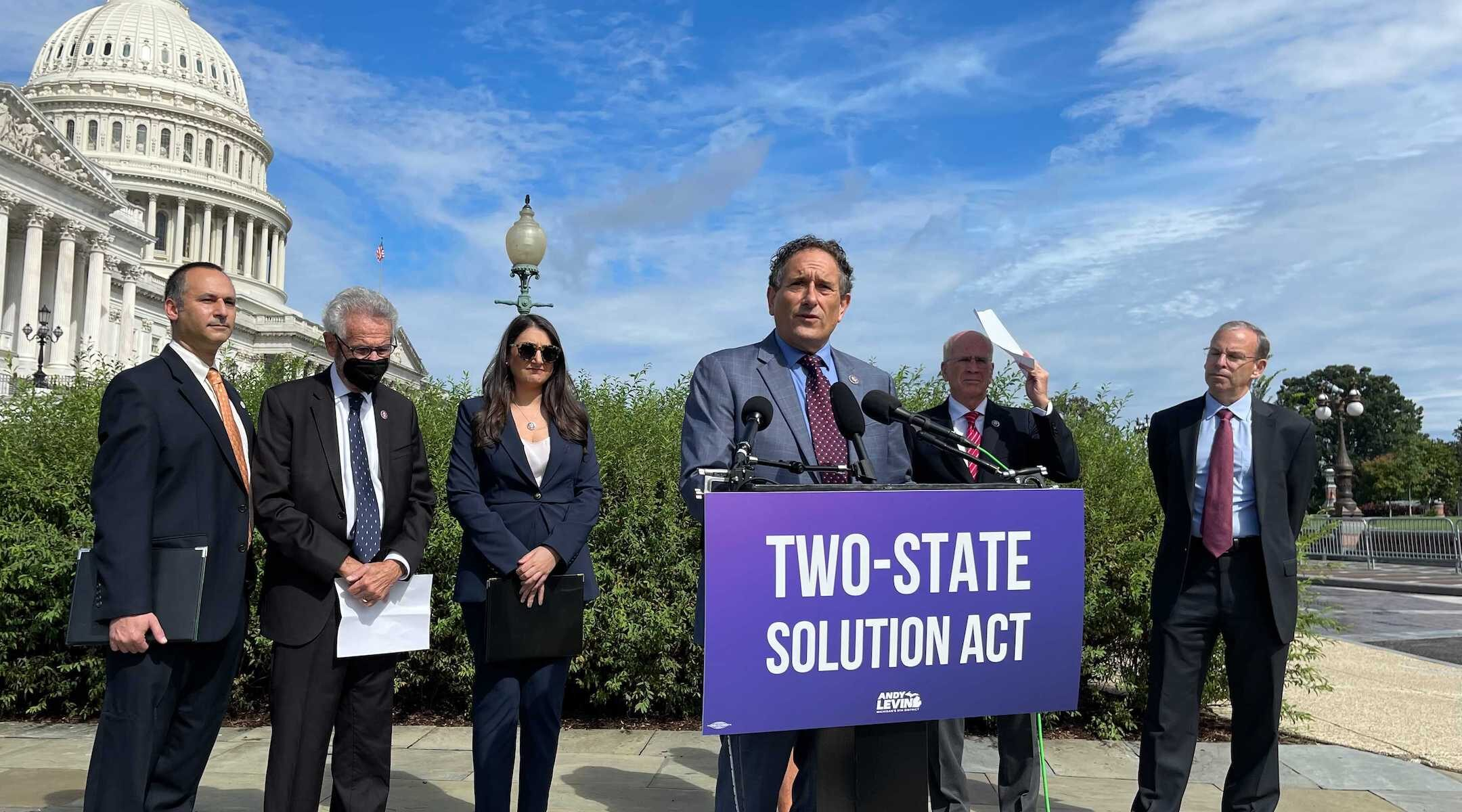 Progressive Dems introduce bill they say aims at keeping 2-state solution alive | The Times of Israel