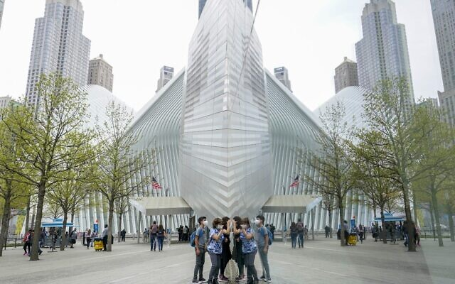 Visitors peek into the museum at the 9/11 Museum & Memorial, Thursday, April 29, 2021, in New York (AP Photo/Mary Altaffer, File)