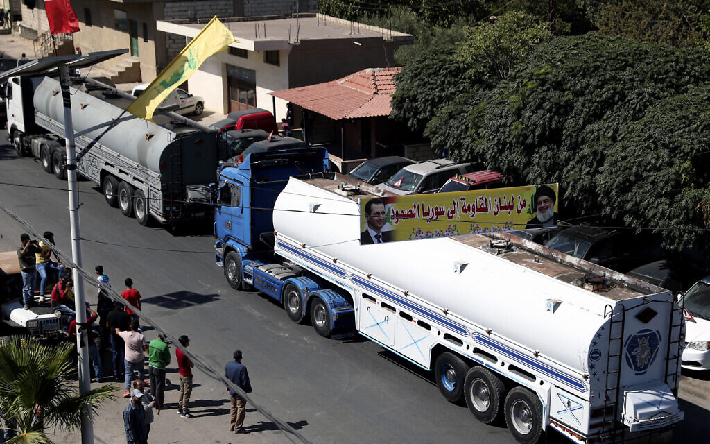 Iran says will sell fuel to Lebanon gov't, after Hezbollah arranged 1st delivery