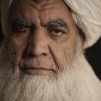 Taliban leader Mullah Nooruddin Turabi poses for a photo in Kabul, Afghanistan, September 22, 2021. (AP Photo/Felipe Dana)
