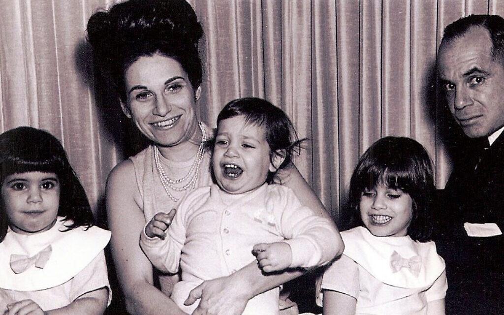 The Bolton family (left to right): Carol, Matilde, John, Judy, and Harold, circa 1966. (courtesy, Judy Bolton-Fasman)