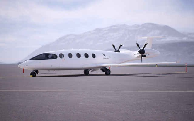 The all-electric Alice aircraft from Eviation Aircraft. (Eviation)