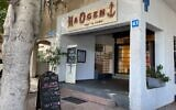 HaOgen Cafe, in central Tel Aviv, is an outpost of a Messianic Jewish organization. (Abby Seitz/ JTA)